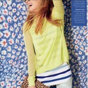 CAbi style #199 open back fishnet sweater